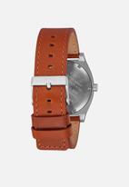 Nixon - Time teller - silver & brown