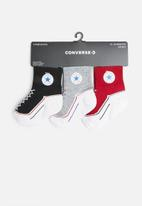 Converse - Converse infant striated 3 pack - multi