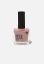 Cotton On - Rubi gel nail polish - fudge