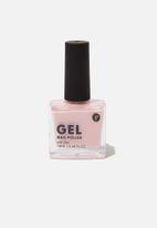 Cotton On - Rubi gel nail polish - blush