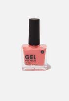 Cotton On - Rubi gel nail polish - peach