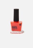 Cotton On - Rubi gel nail polish - neon orange