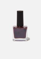 Cotton On - Rubi gel nail polish - wine