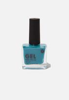 Cotton On - Rubi gel nail polish - june bug