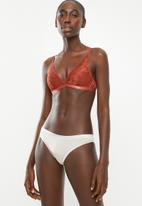 Cotton On - Audrey wirefree bralette bra - orange