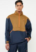 Reebok Classic - Classic trail jacket - navy & brown