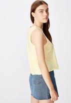 Factorie - Graphic tank - yellow