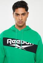 Reebok Classic - Classic V P OTH hoodie - green