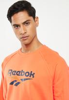 Reebok - Cl v long sleeve crew - orange