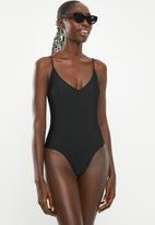 Bacon Bikinis - Simba one piece - black