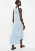 Superbalist - Halter midi dress - blue
