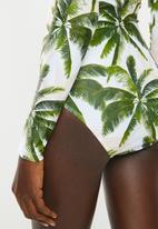Bacon Bikinis - Long sleeve one piece - multi