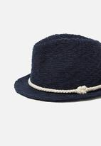 Cotton On - Trilby hat - navy