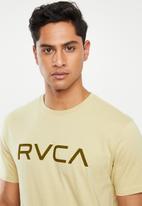 RVCA - Big RVCA short sleeve tee - neutral