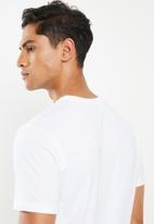 RVCA - Drop out short sleeve tee - white