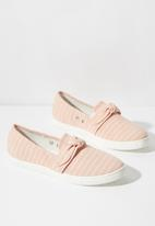 Cotton On - Belle bow slip on - pink