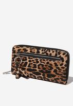 Cotton On - Keep the change wallet  - black & brown