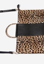 Cotton On - Working 9 to 5 tablet case - black & beige