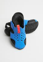 Nike - Sunray protect - blue & bright crimson