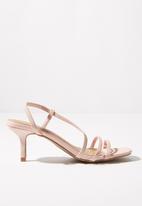 Cotton On - Lara strappy stilletto - pink