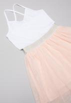 POP CANDY - Tutu dress - peach