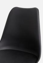 Sixth Floor - Finch dining chair - black
