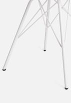Sixth Floor - Finch dining chair - white