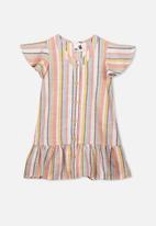 Cotton On - Lola short sleeve dress - multi
