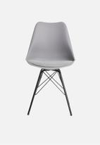 Sixth Floor - Finch dining chair - grey