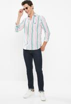 POLO - Zachary candy stripe signature shirt - multi