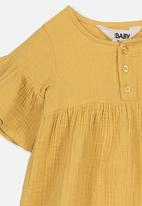 Cotton On - Poppy dress - yellow