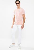 POLO - Lucas plain crew neck - pink