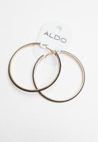 ALDO - Clubryll earrings - black & gold