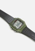 Casio - Standard collection w-800hmf-2a-green