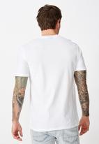 Cotton On - Tbar text T-shirt - white