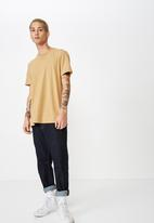 Cotton On - Essential crew tee - camel