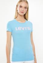 Levi's® - Baltic sea no tab graphic tee - blue