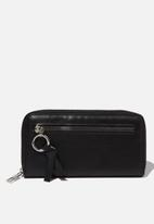 Cotton On - Keep the change wallet  - black