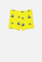 Cotton On - Benny boyleg trunks - yellow