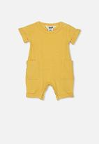 Cotton On - River playsuit - yellow