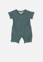 Cotton On - River playsuit - green