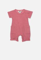 Cotton On - River playsuit - pink