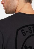 G-Star RAW - Graphic 10 long sleeve T-shirts - black