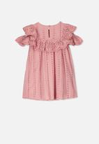 Cotton On - Rosie cold shoulder dress - pink