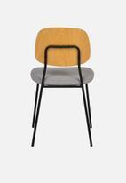Sixth Floor - Delta chair - grey