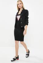 GUESS - Core triangle mila dress - black