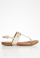 ALDO - Elirka sandal - beige