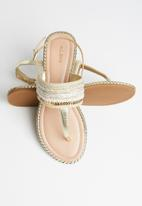 ALDO - Abirawia sandal - gold