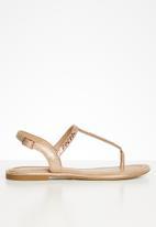ALDO - Sheeny sandal - 962 metallic multi