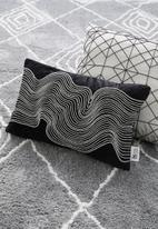 SF Collection - Selah cushion cover - charcoal